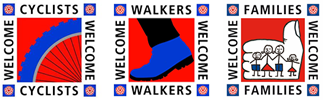 Visit England Families Cyclists and Walkers Welcome